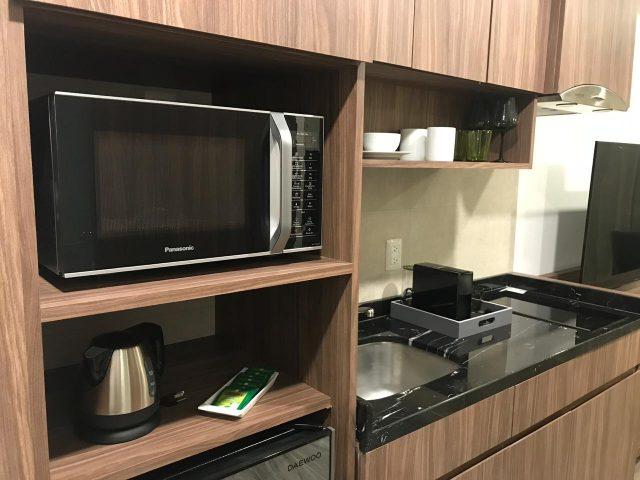 Mueble para microondas - cocineta