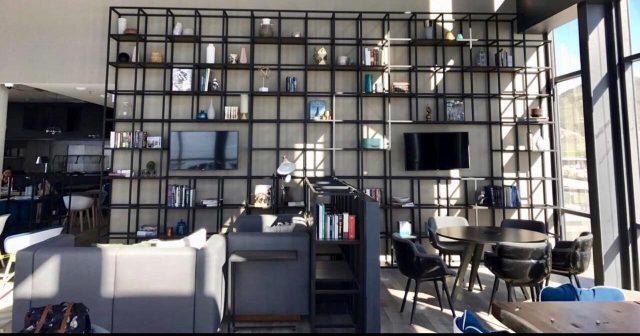 Librero - áreas de trabajo